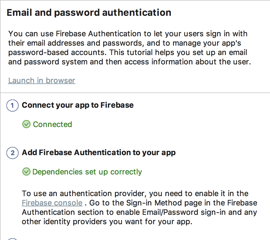 Google Login And Registration For Android Using Firebase Authentication 2