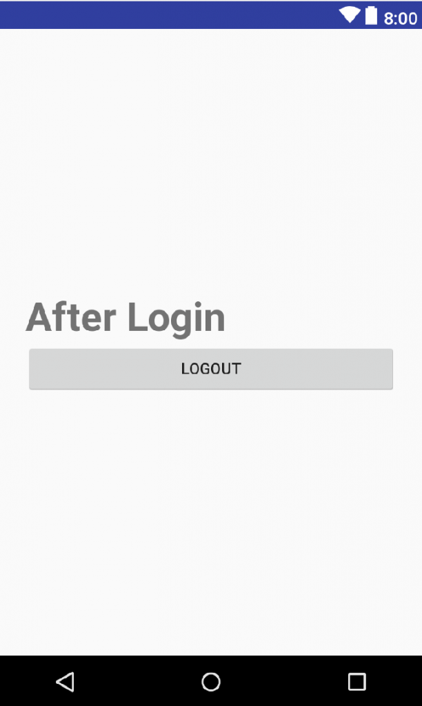Logout in Google Firebase Authentication