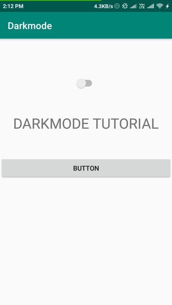 Dark Mode 1