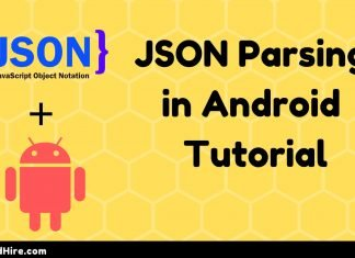 JSON Parsing in Android Tutorial
