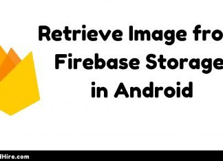 Retrieve Image from Firebase Storage