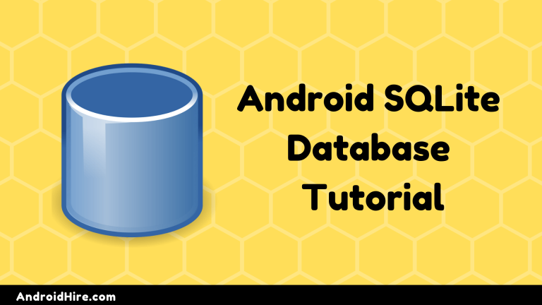 Android SQLite Database Tutorial (ADD, DELETE, FETCH)