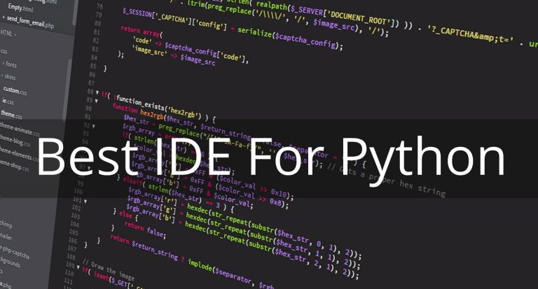 5 Best IDE for Python in 2019