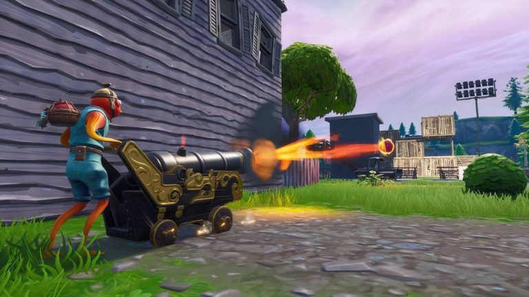 How to deal 100 damage with pirate cannon in Fortnite