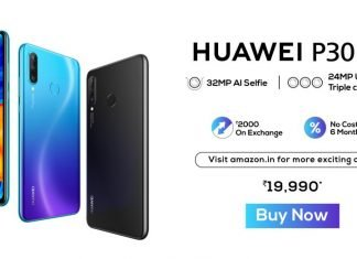 Huawei P30 lite goes on sale in India