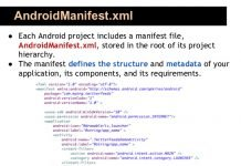 androidmanifest file