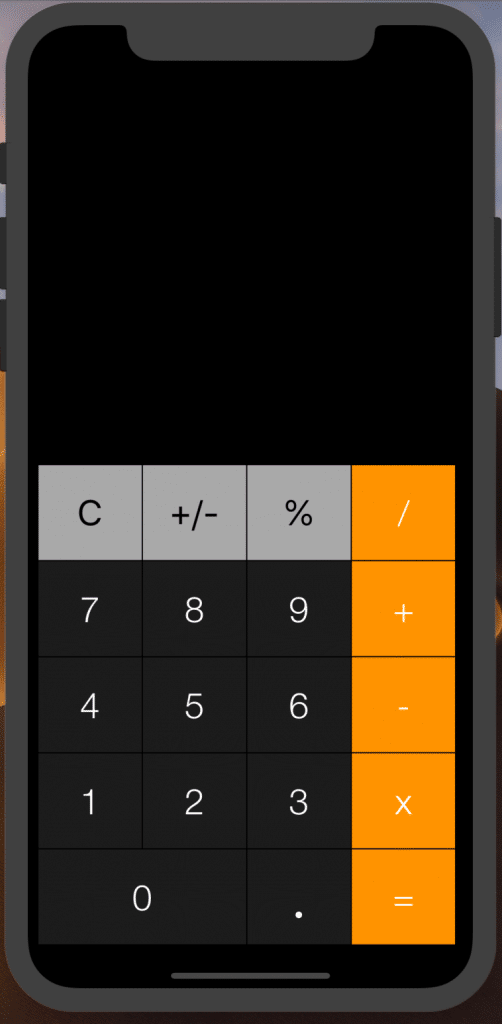 Iphone calculator design for android