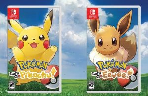 Pokemon lets go pikachu and evee