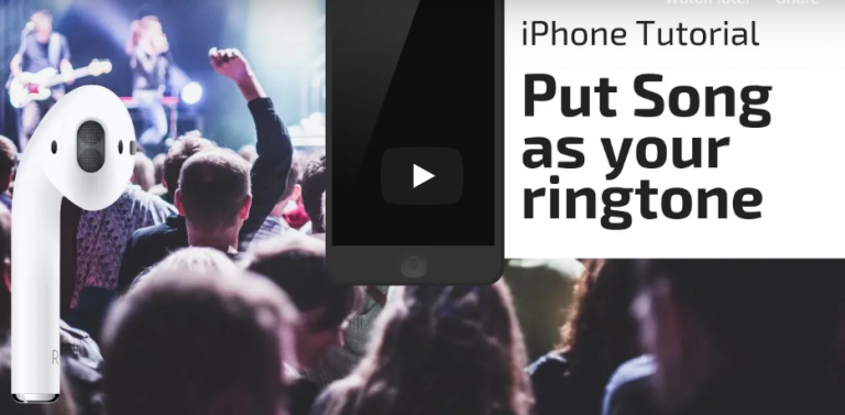 How to put any song as ringtone on any iPhone?