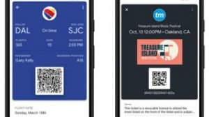 Google pay supports boarding pass