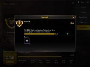 Commando title PUBG trick