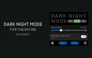 Dark mode for Chrome