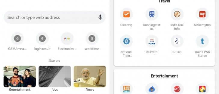 Google Chrome To Get 'Explore' Tab In New Version - Android Hire