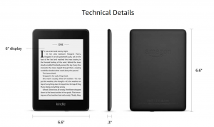 Kindle paperwhite details