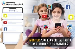 Monitor your kid's digital Habits and identify their activities