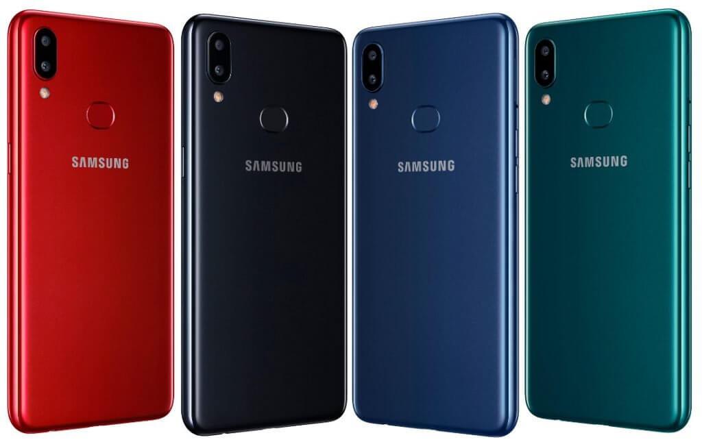 Samsung galaxy a10s lineup