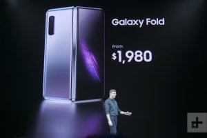 Samsung galaxy fold pricing