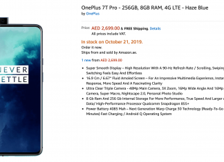 OnePlus 7T Pro Full Specification
