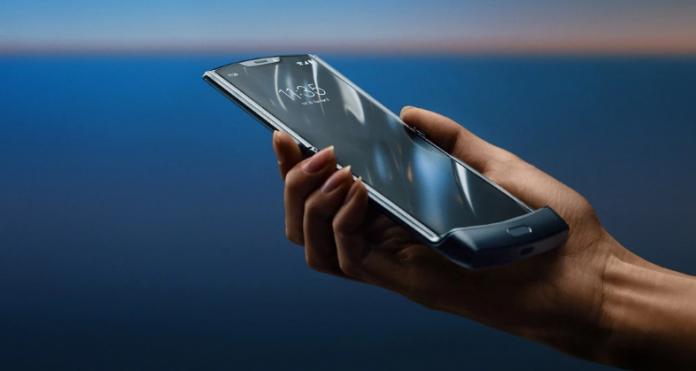 motorola razr (2019) foldable phone
