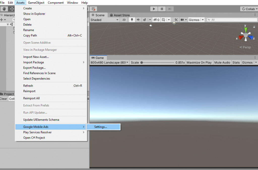 How to integrate admob banner ads in unity 4