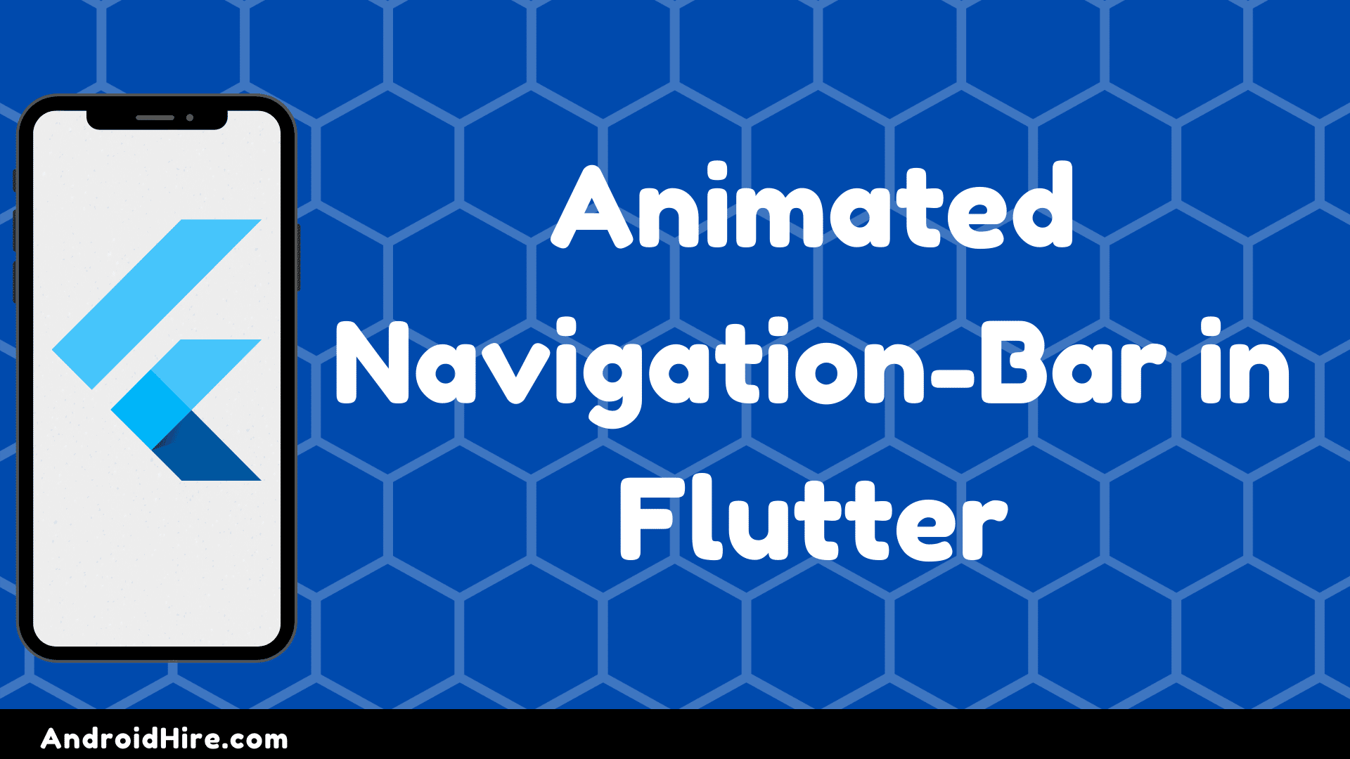 Animated Navigation-Bar in Flutter