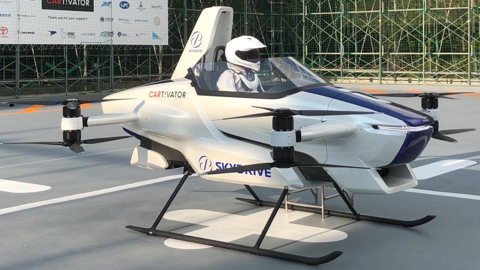 Japan's flying car