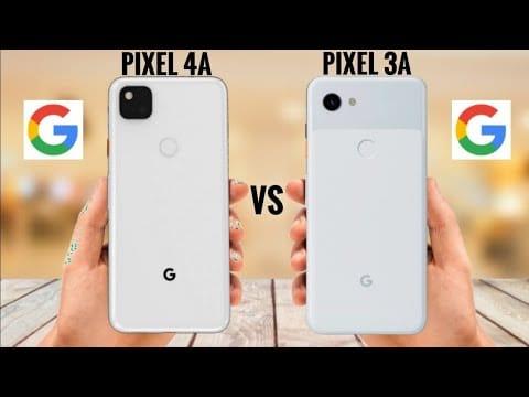 Pixel 4a vs. Pixel 3a