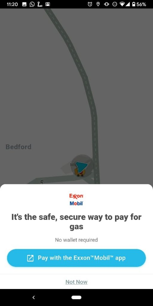 Waze adds notifications for gas stations supporting contactless payments 1