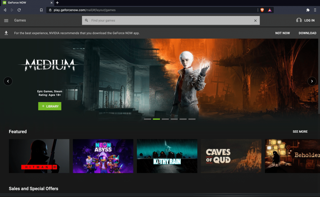 GeForce Now officially available for Chrome browser on Windows and Mac 1
