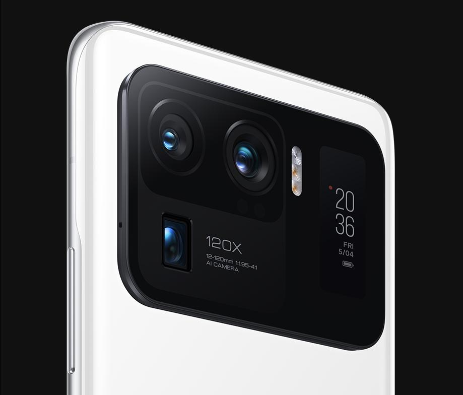 Triple-camera-setup-and-rear-display-of-mi-11-ultra